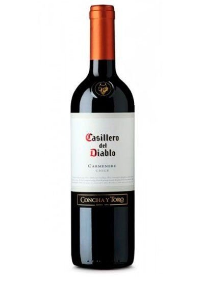 Vinho Tinto Chileno Casillero Del Diablo Carmenere 750 ml