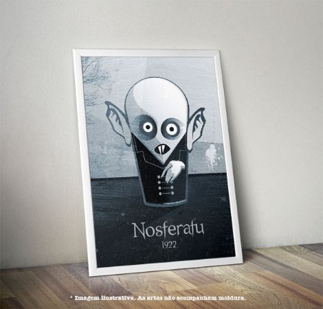 Pôster Caricatura Nosferatu 1922