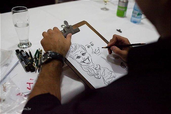 Caricaturista para EVENTO (caricatura ao vivo)