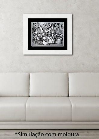 MÚSICOS I - Reprodução Giclée/Fine-Art - Série assinada e numerada com tiragem limitada
