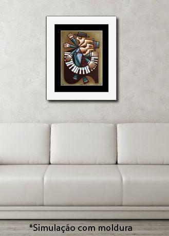 O PIANISTA - Reprodução Giclée/Fine-Art - Série assinada e numerada com tiragem limitada