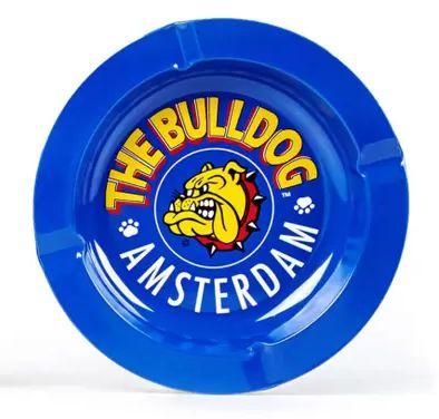 Cinzeiro Metal The Bulldog - Azul