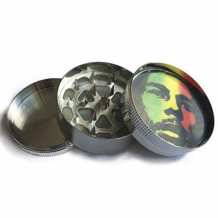 Triturador Metal Bob Marley