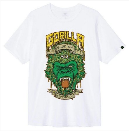 Camiseta 420 Friends Gorilla Glue