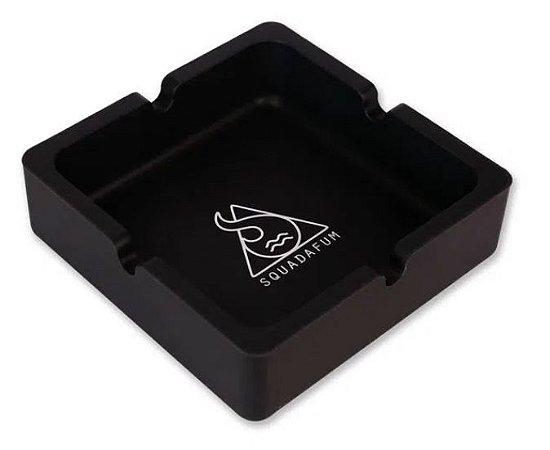 Cinzeiro de Silicone Squadafum 10cm Quadrado