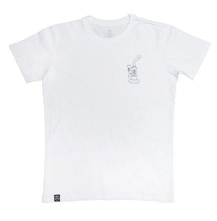 Camiseta Squadafum Bong Branca