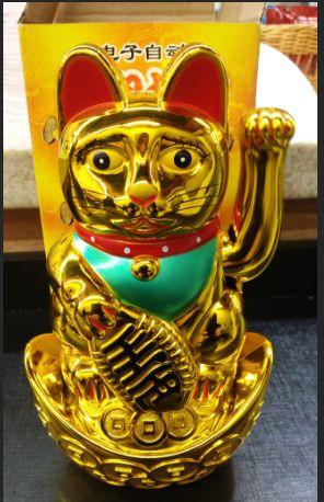 Gato da Sorte Japonês - Manekineko