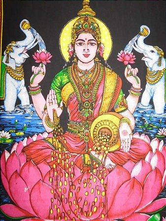 Painel Indiano - Deusa Lakshimi