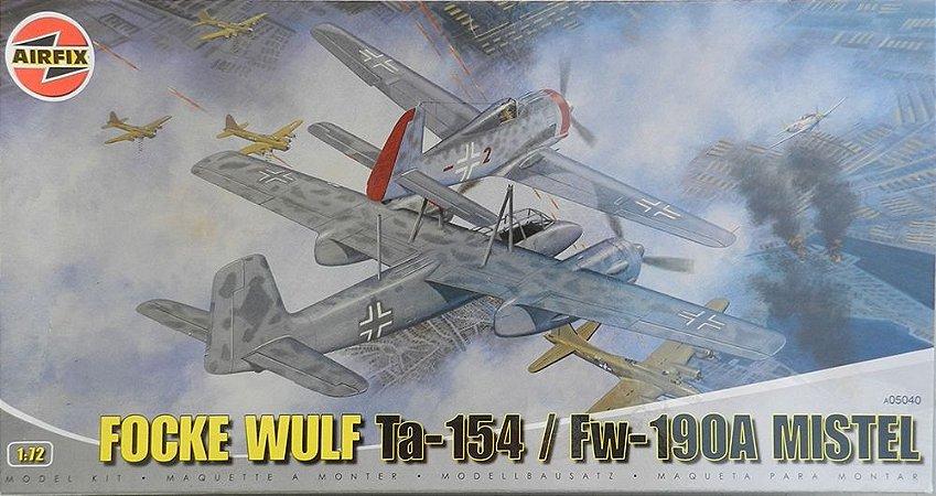 Focke Wulf Ta-154/FW-190A Mistel - escala 1/72 - Airfix