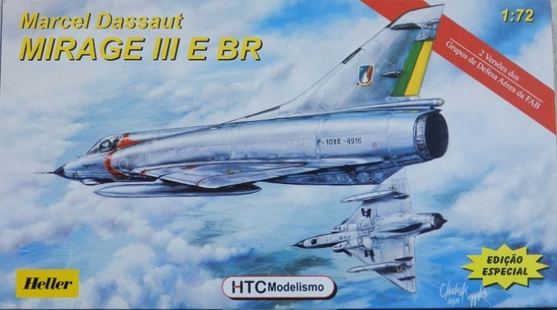 Mirage III E BR - escala 1/72 - HTC