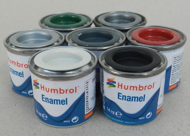 Tinta Humbrol - esmalte sintético -14ml