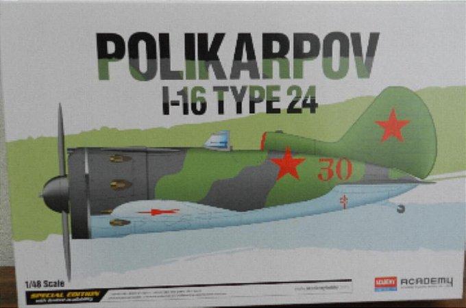 Polikarpov I-16 Type 24 - escala 1/48 - Academy