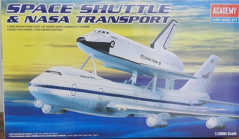 Space Shuttle & NASA Transport - escala 1/288 - Academy