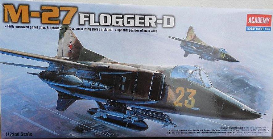 M-27 Flogger-D  escala 1/72 - Academy