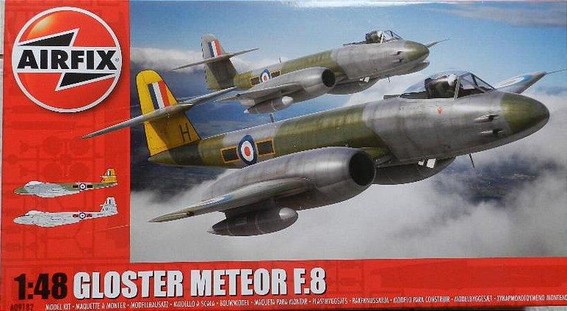 Gloster Meteor F.8 - escala 1/48 - Airfix