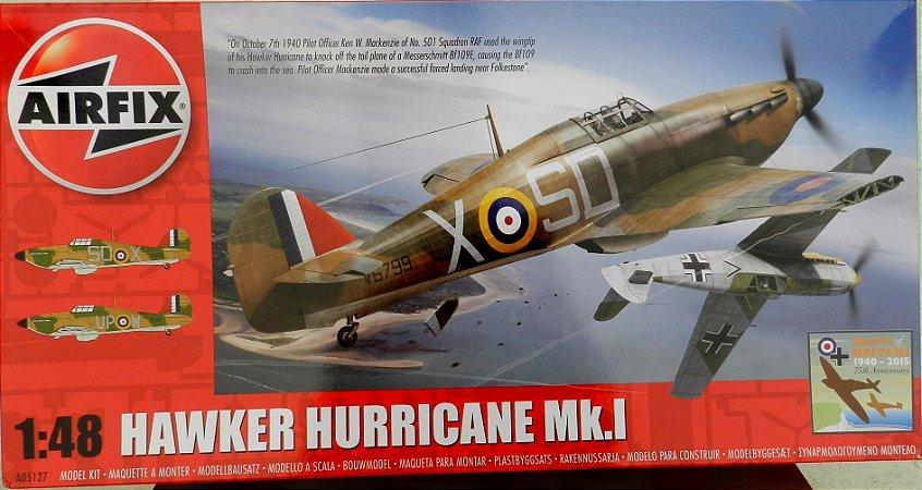 Hawker Hurricane Mk.1 - escala 1/48 - Airfix