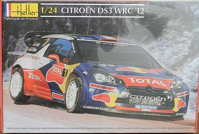 Citroen DS3 WRC '12 - escala 1/24 - Heller