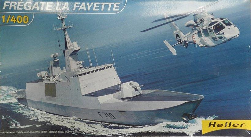 Frégate La Fayette - escala 1/400 - Heller