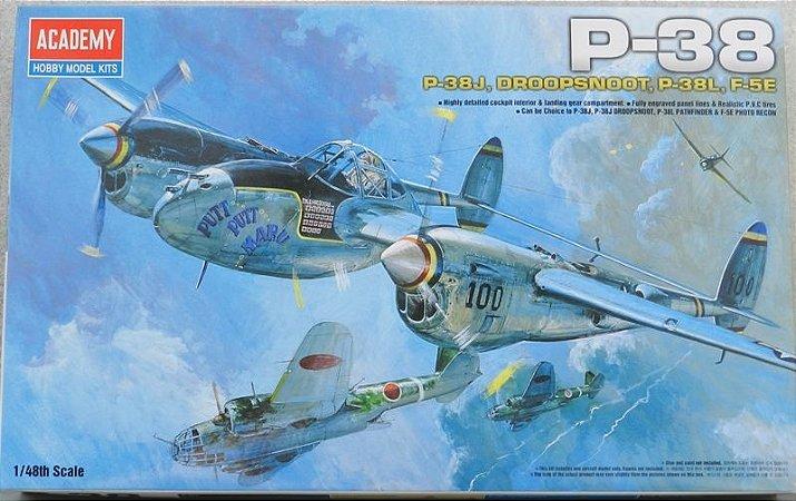 Lockheed P-38 Lightning - escala 1/48 - Academy