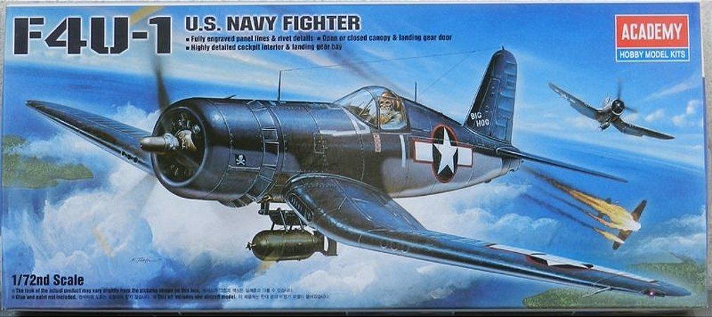 F4U -1 U.S. Navy Fighter - escala 1/72 - Academy