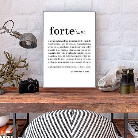 Quadro Decorativo - Forte