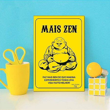Quadro Decorativo - Mais zen