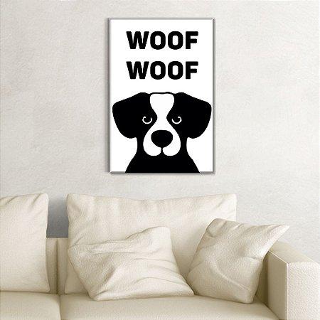 Quadro Decorativo - Woof woof