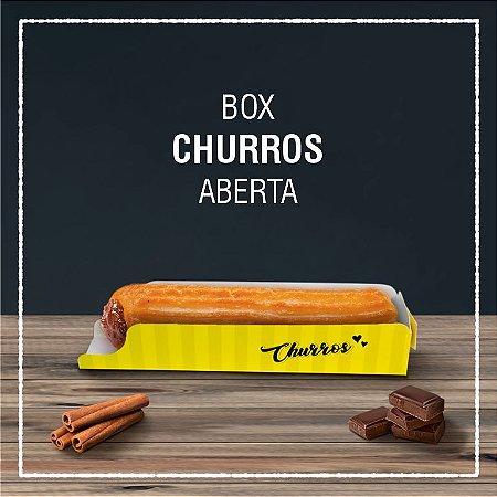 Box Churros aberta -  GENÉRICA (100 unidades)