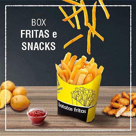 Box Fritas e Snacks -  GENÉRICA (100 unidades)