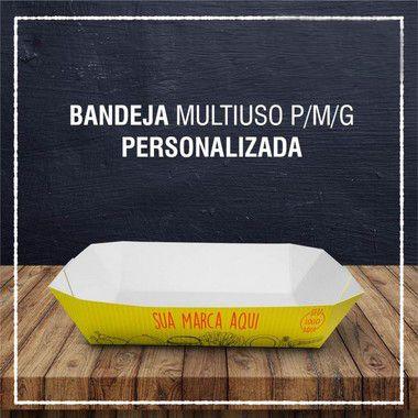 Bandeja Multiuso PMG -  PERSONALIZADA (2000 unidades)