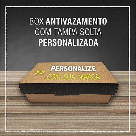 Box Antivazamento com tampa solta -  PERSONALIZADA (2000 unidades)