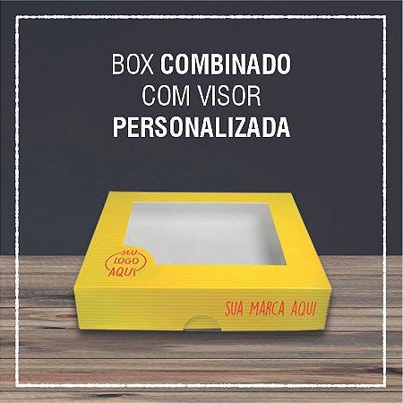 Box Combinado com visor -  PERSONALIZADA (2000 unidades)