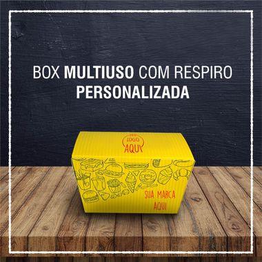 Box Multiuso com respiro -  PERSONALIZADA (2000 unidades)
