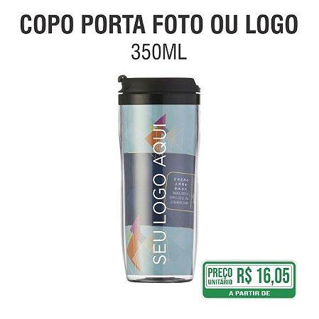 Copo Porta Foto ou Logo 350ml