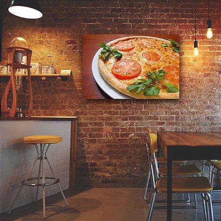 Quadro Decorativo - Pizza Mussarela
