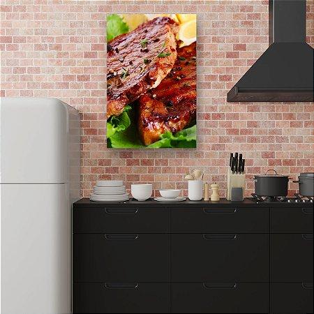 Quadro Decorativo - Carne Assada