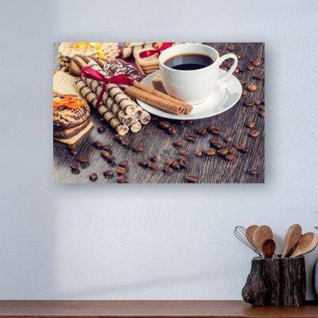 Quadro Decorativo - Café com Doces