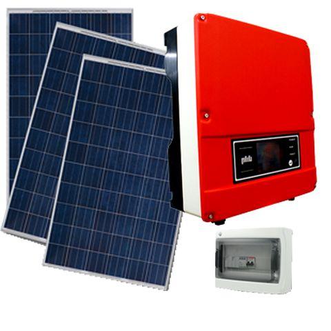 Kit Gerador de Energia Solar Fotovoltaica  =gera 330 kWh/mês = *INSTALADO*HOMOLOGADO*