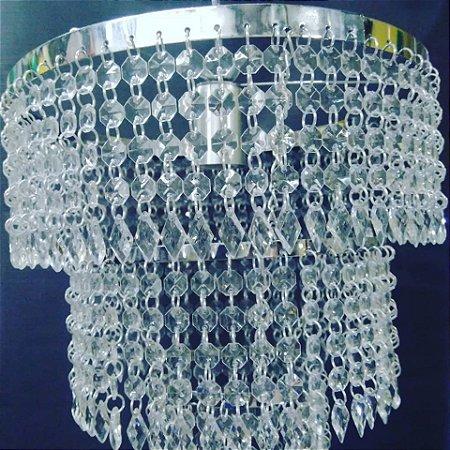 Lustre cristal acrílico