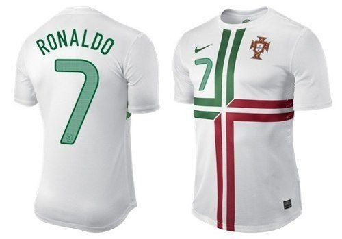 Camisa Nike Portugal Cristiano Ronaldo - SJF ROUPAS 74559db25d8b9