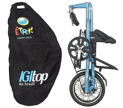 Bicicleta Dobravel Cicla - Mochila - Para a Cicla