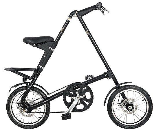 Bicicleta Dobravel Cicla - Estilo Design Praticidade (Preta)