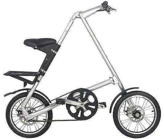 Bicicleta Dobravel Cicla - Estilo Design Praticidade (Prata)