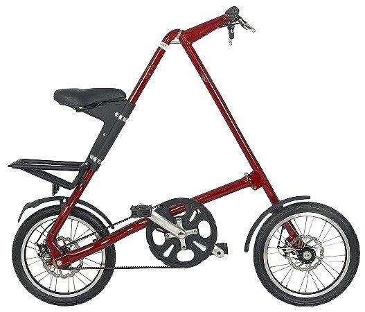 Bicicleta Dobravel Cicla - Estilo Design Praticidade (Vermelha)