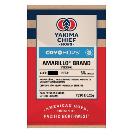 Lúpulo AMARILLO Yakima Chief CRYO HOPS - 25g