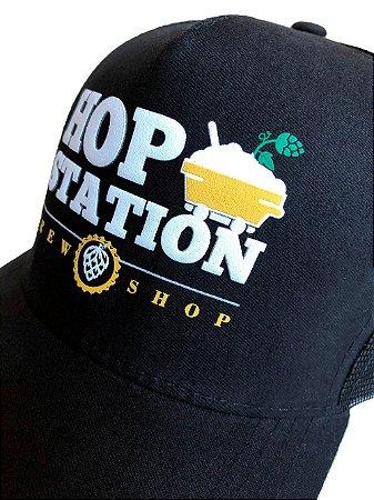 Boné Trucker Hop Station