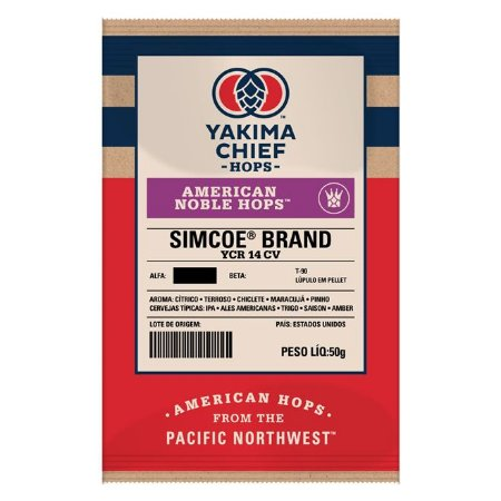Lúpulo YCH Hops American Noble SIMCOE - 50g