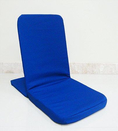 Cadeira De Meditação - Caminhos Do Yoga (Azul Royal)