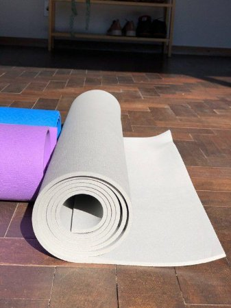 Tapete de Yoga (Yoga Mat) - Cinza