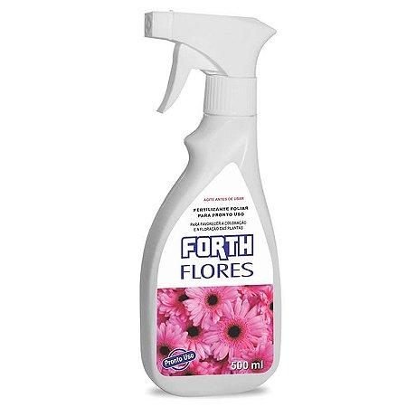 Fertilizante Líquido Forth para Flores - 500ml - Pronto para o Uso